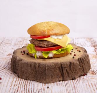 Гриль бургер с телятиной